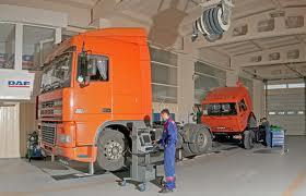 Заказать Обслуживание техническое грузовых автомобилей