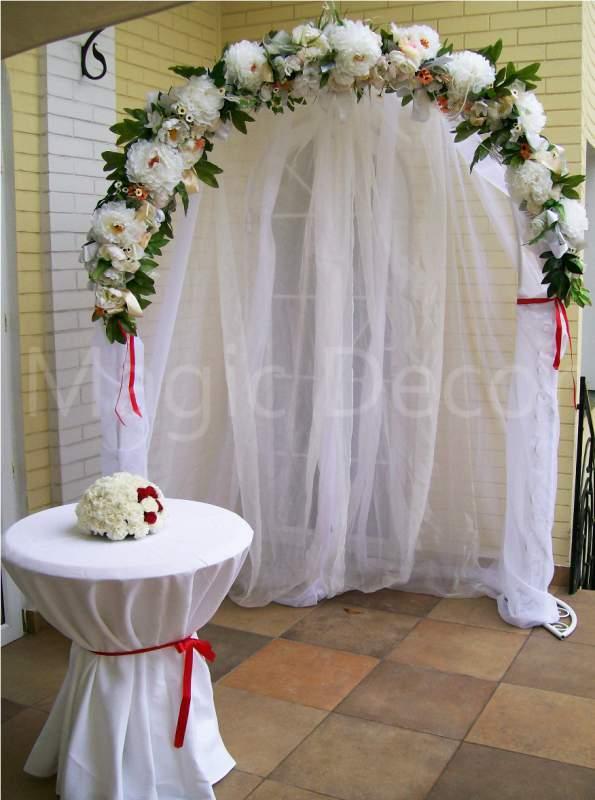3d41a0020b065 Свадебная арка, арка из цветов, белая, сиреневая арка для выездной  церемонии, росписи