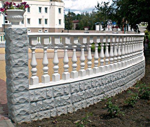 Заказать Установка бетонных заборов