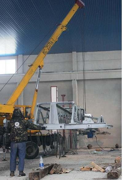 Монтаж, ремонт, реконструкция козловых, мостовых, грейферных, консольных кранов