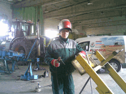 Order Repair, guarantee and post warranty maintenance of agricultural machinery