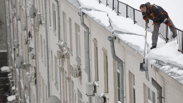 Заказать Очистка крыш от снега и сосулек