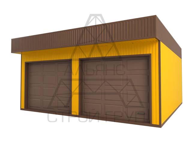 Строительство и изготовление металлических гаражей