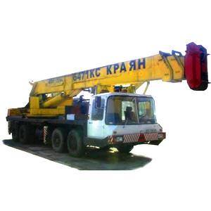 Заказать Услуги аренда автокрана Краян КС 6471 стрела 27 метров грузоподъемность 40 тонн Киев