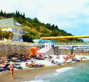 Заказать Пляж курорт море санаторий Крым Алушта