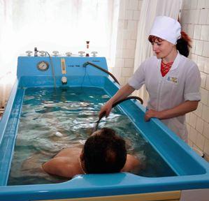 Заказать Лечебная ванна (бальнеотерапия) санаторий Полтава