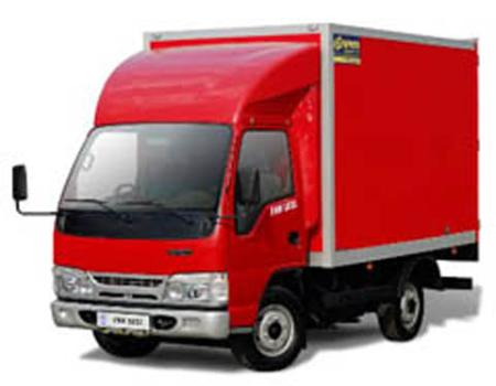 Order Road haulage of small consignments