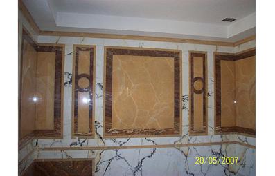 Заказать Оснащение, меблировка и внутренняя отделка помещений.Стены отделанные мрамором