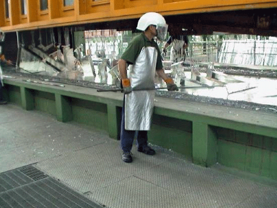Order Processing by hot zinc.