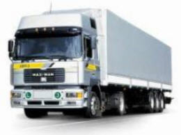 Order The automobile transportation classified by types of loads