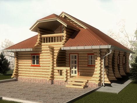 Заказать Строительство дома из дерева
