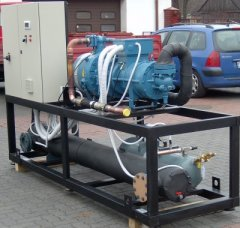 Order Installation of units on the basis of screw compressors, semi-tight compressors
