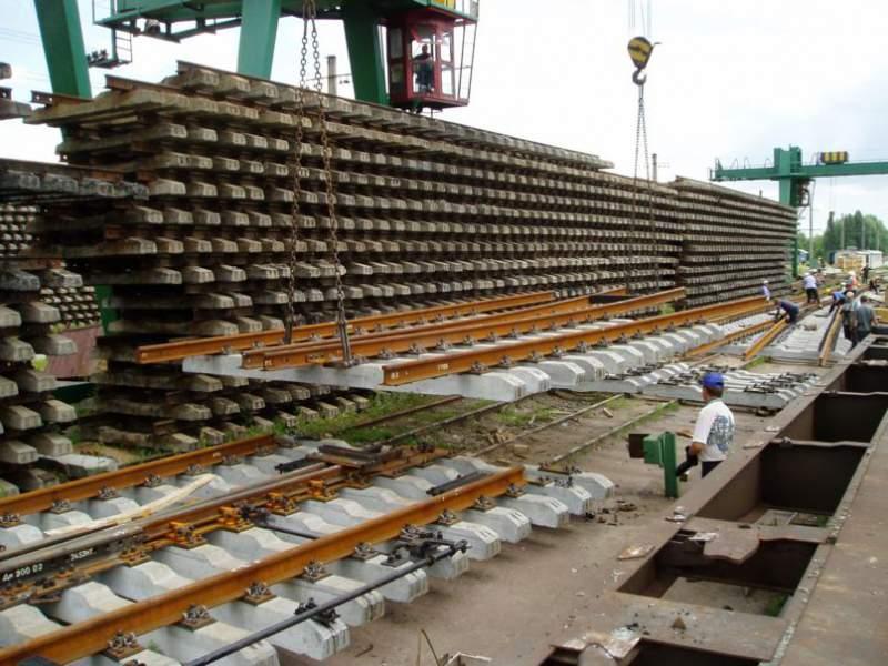 Заказать Капитальный ремонт железнодорожных путей