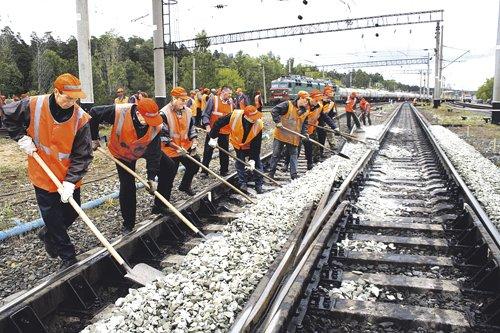 Заказать Реконструкция железнодорожных путей