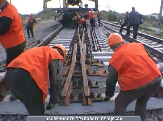 Заказать Текущее содержание железнодорожного пути
