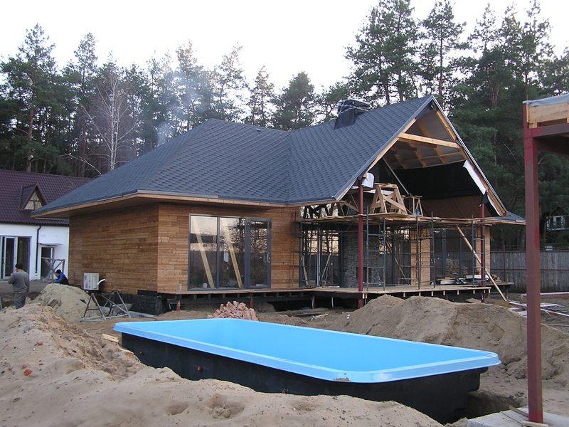 Домов по технологии канадский дом