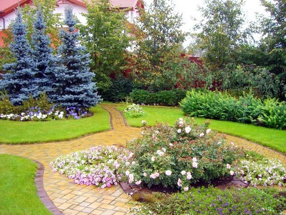 Ландшафтный дизайн сада крым