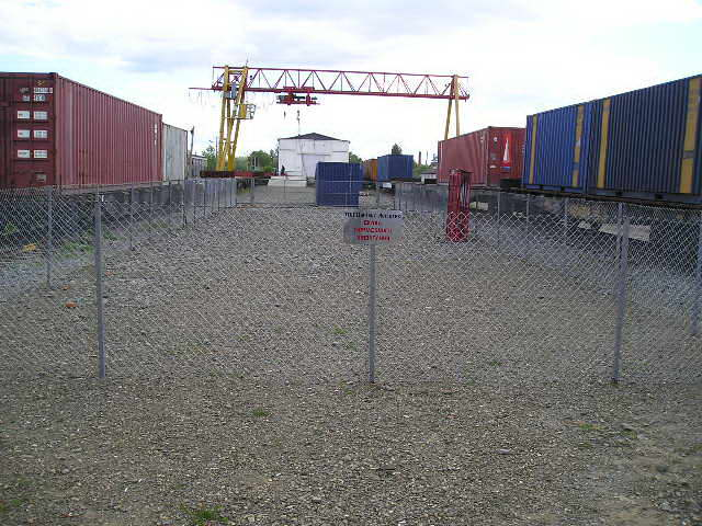Заказать Перегруз крупнотоннажных контейнеров.
