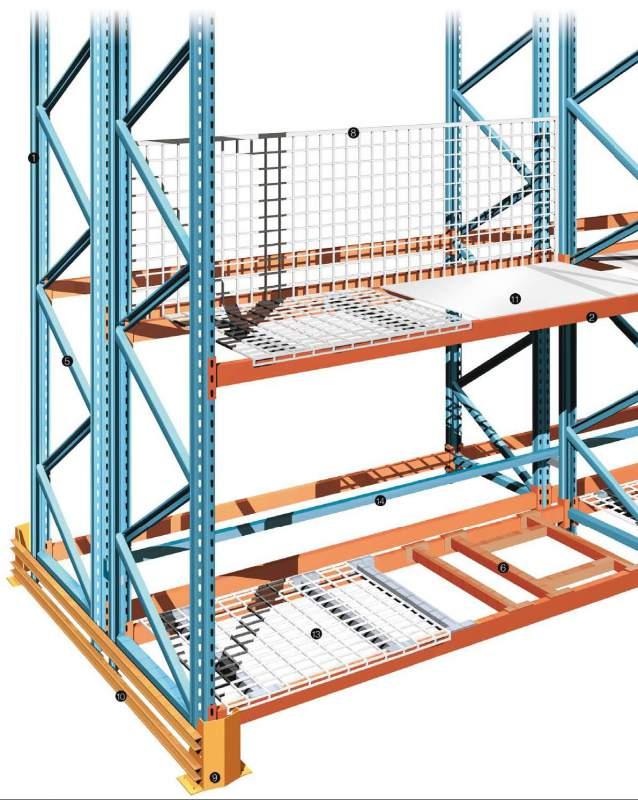 Проектирование схем расстановки складского оборудования