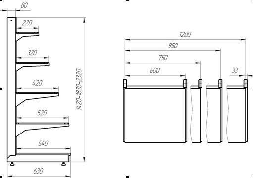 Изготовление торгового оборудования под заказ
