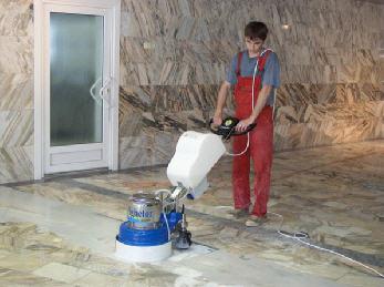 полировка мрамора