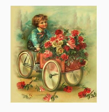 фото конфет и цветов:
