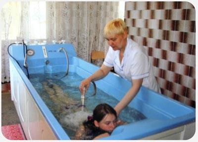 Заказать Подводный душ-массаж