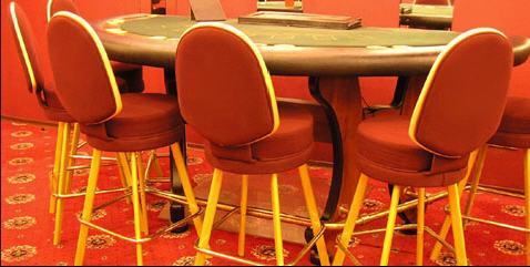 Дизайн и производство мебели для казино.