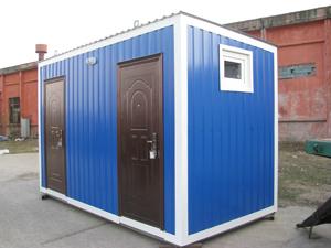 Заказать Строительство быстровозводимых зданий, туалетов