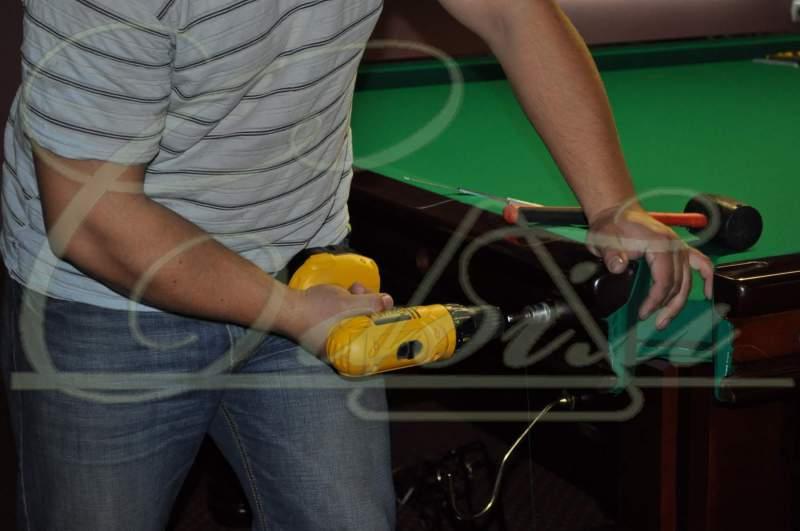 Order Installation of a billiard table