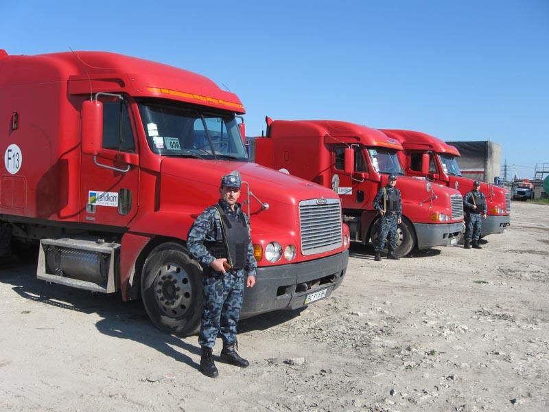 Заказать Сопровождение грузов