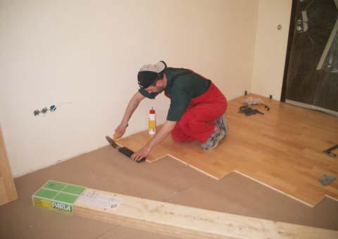 Заказать Мы производим укладку ЛЮБОГО напольного покрытия, так же мы производим профессиональную подготовку оснований любой степени сложности.