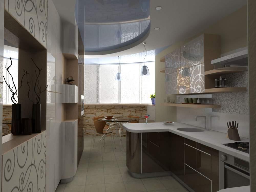 Дизайн кухни смотреть