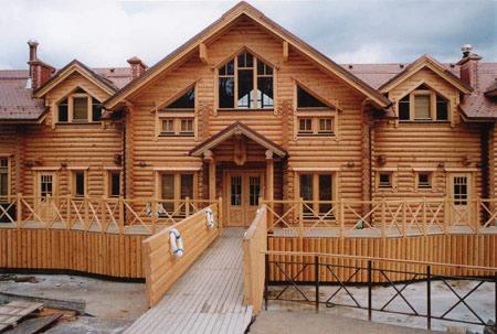 Заказать Строительство домов из дерева