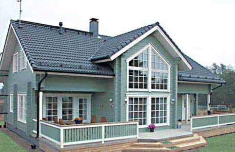 Заказать Строительство деревянных домов различных стилей. Архитектурное проектирование.