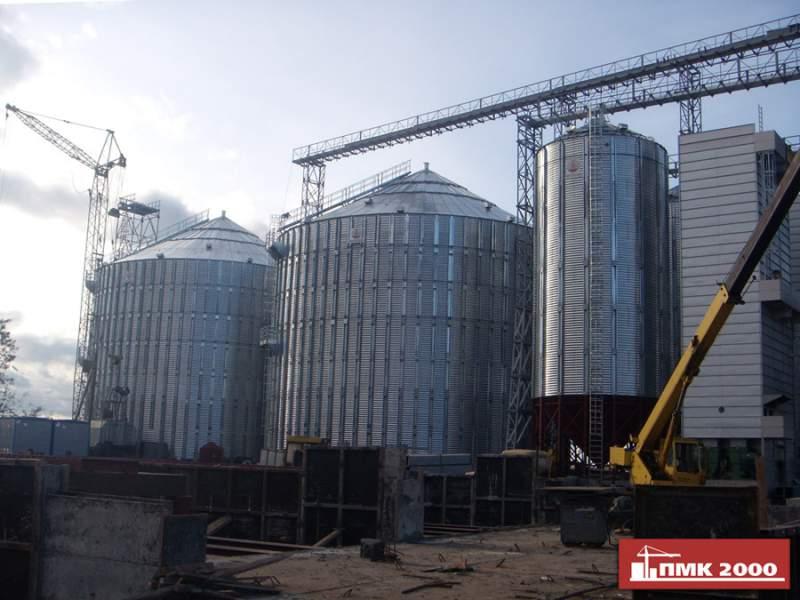 Заказать Строительство зернового элеватора