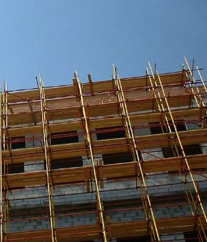 Заказать Работы на строительных лесах