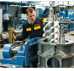Ремонт и обслуживание компрессорного оборудования Kaeser