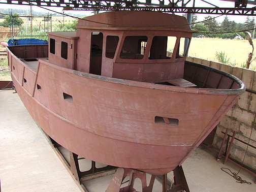 сделать лодку из стали