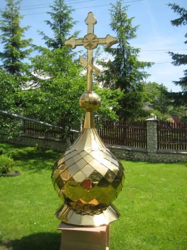 Заказать Изготовление церковных куполов любой сложности.