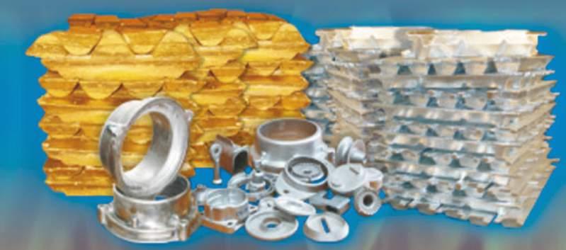 Литье под давлением алюминия и цинка  Изготовление отливок из алюминиевых и цинковых сплавов методами литья в кокиль и под высоким давлением
