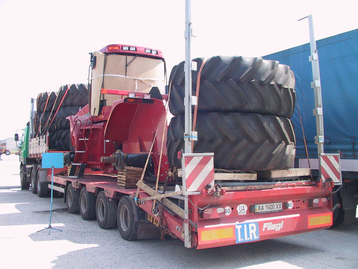 Order Delivery of heavy freights, International cargo transportation