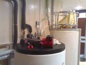 Order Installation and installation of air heating