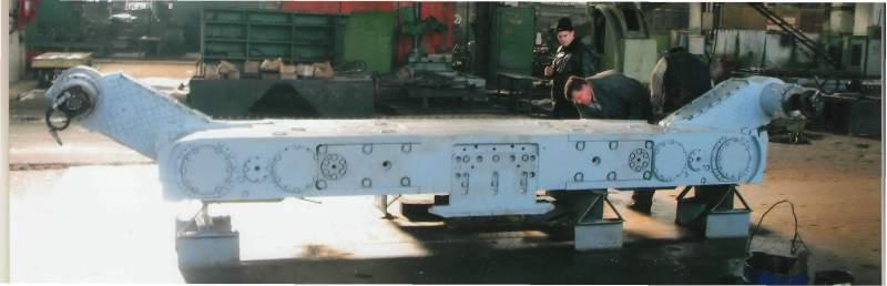 Заказать Ремонт очистных и проходческих комбайнов, породопогрузочных машин 1ППН5, 2ПНБ-2Б, секций механизированной крепи, лебедок, редукторов, вентиляторов, гидростоек, гидродомкратов.