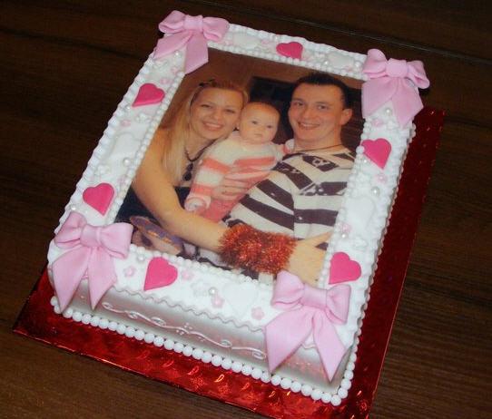 Как сделать фотографии на тортах
