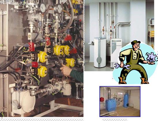 Заказать Ремонт отопительного оборудования