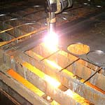 Order Plasma cutting of metal rolling