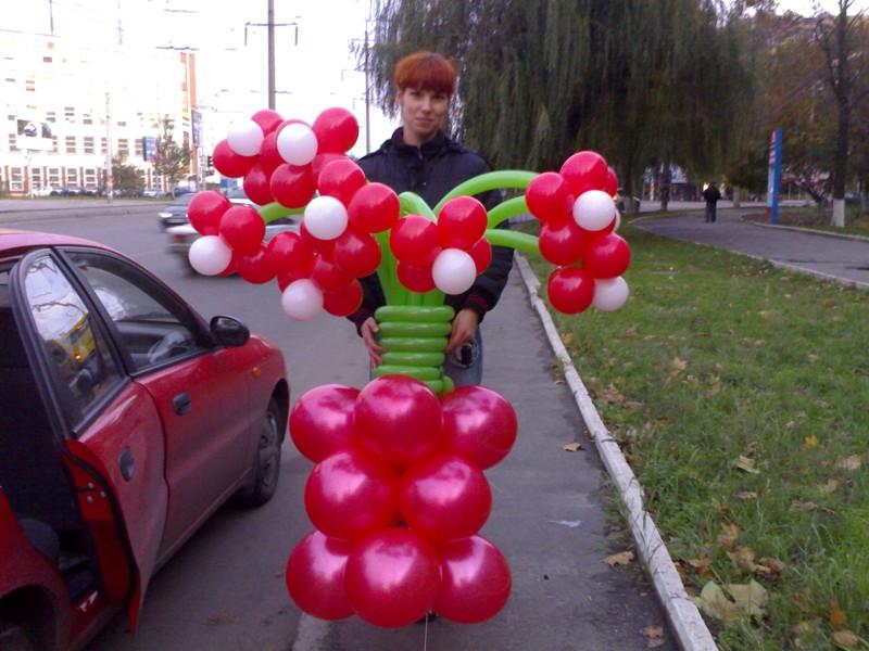 Фигуры из воздушных шаров своими руками фото