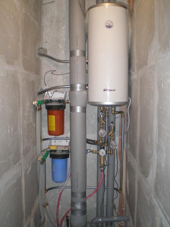 Заказать Монтаж и реконструкция систем водоснабжения.