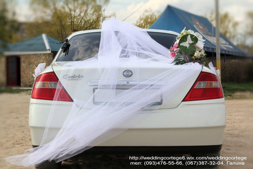 Заказать Свадебные украшения на авто в Южном